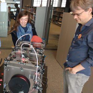 Digitaal maken: ontwerpen voor een 3D-printer 23/05/17