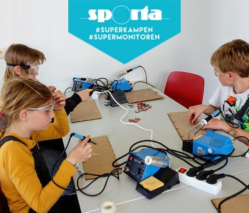 Sporta Zomerkamp Wetenschap & Technologie – 25-30 aug Tongerlo