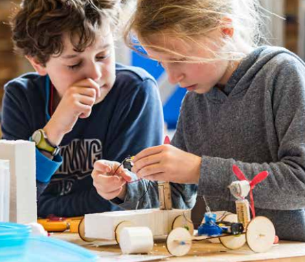 Junior Makers Club - zat voorjaar 2020