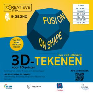 3D-ontwerpen & 3D-printen - OnShape - 1/10