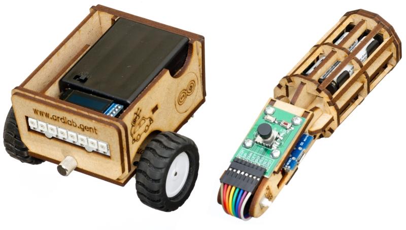 GEANNULEERD 28/12-30/12: WiFi Robot Bouwen - 12+