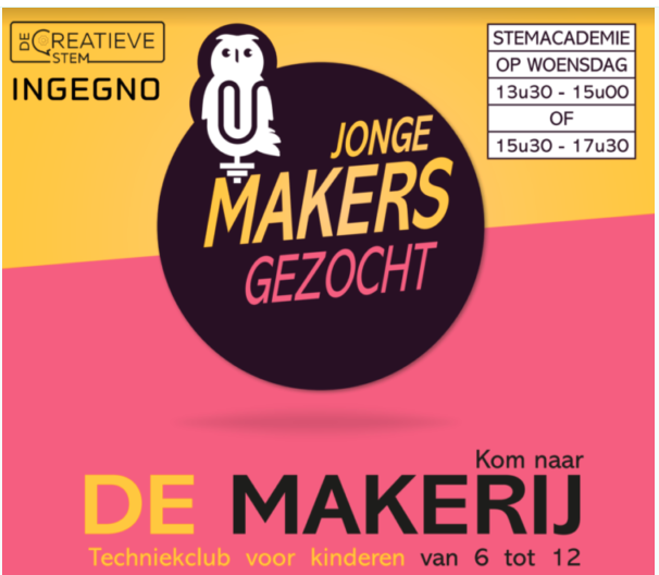 Bulb: De makerij junior -vanaf 13/01/2021