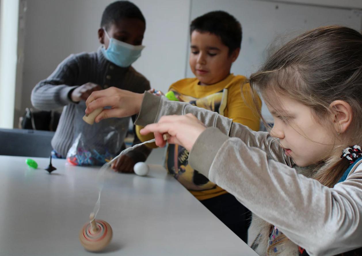 Mathemagic Pompidou - minireeks, 6j-12j, Brussel