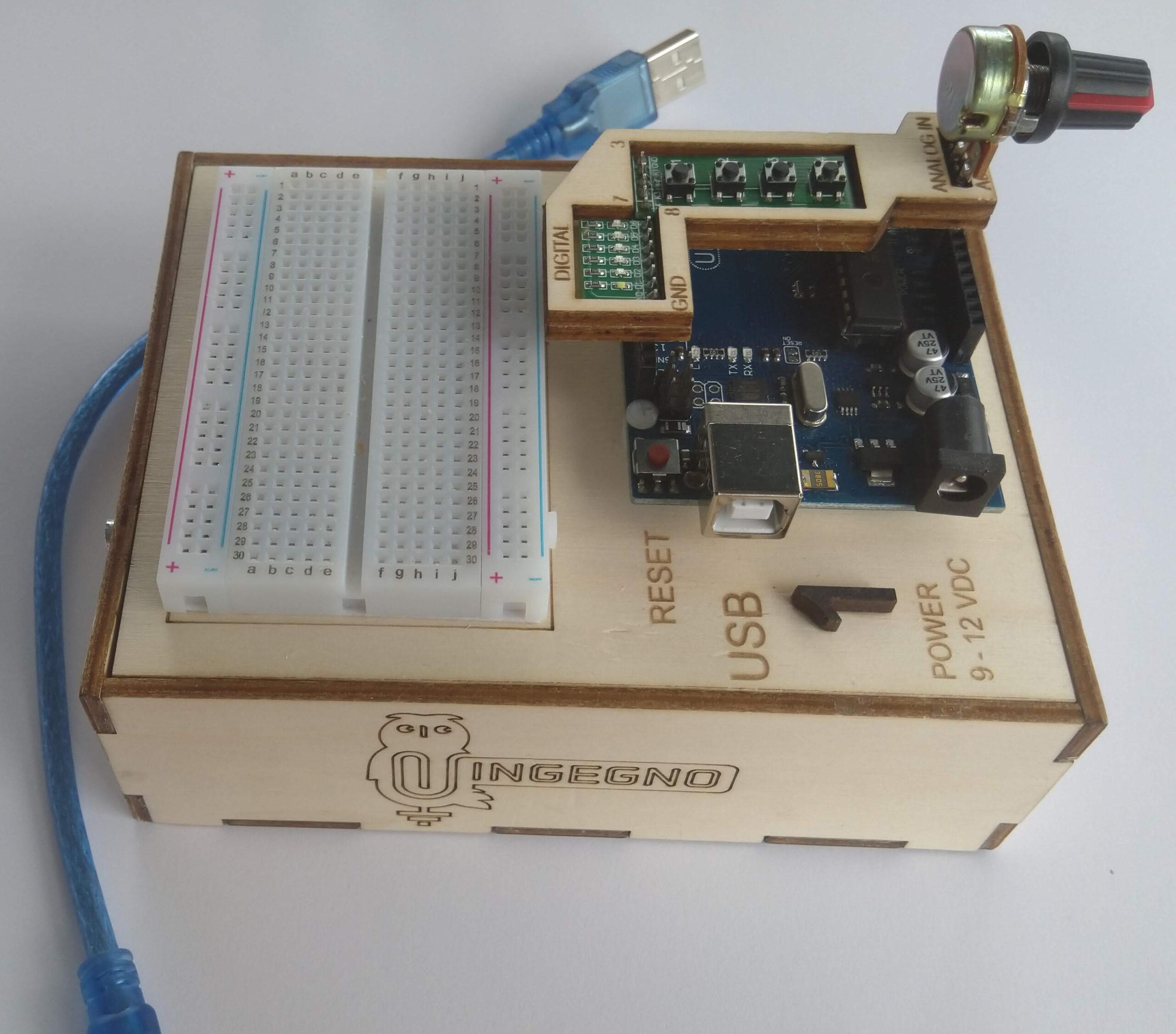 Arduino voor Makers, 13+, minireeks vanaf 9/06/2021